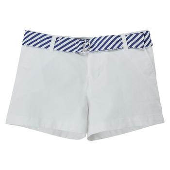 Kleidung Mädchen Shorts / Bermudas Polo Ralph Lauren FILLI Weiß