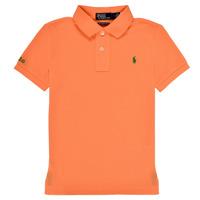 Kleidung Jungen Polohemden Polo Ralph Lauren POLLIE Orange