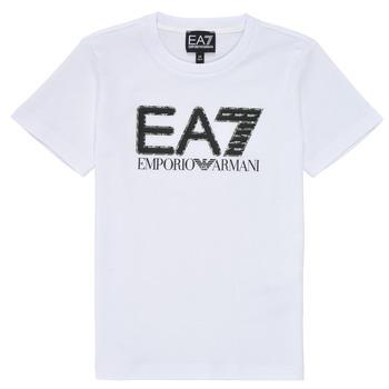 Vêtements Garçon T-shirts manches courtes Emporio Armani EA7 3KBT53-BJ02Z-1100