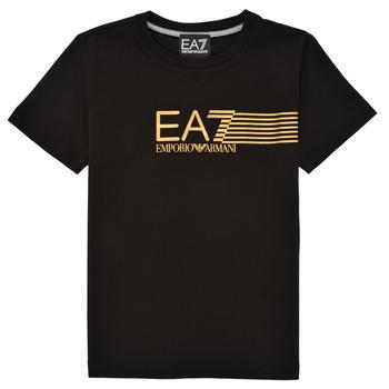 Vêtements Garçon T-shirts manches courtes Emporio Armani EA7 3KBT54-BJ02Z-1200