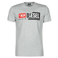 Kleidung Herren T-Shirts Diesel 00SDP1-0091A-912 Grau