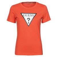 Vêtements Femme T-shirts manches courtes Guess SS CN ORIGINAL TEE