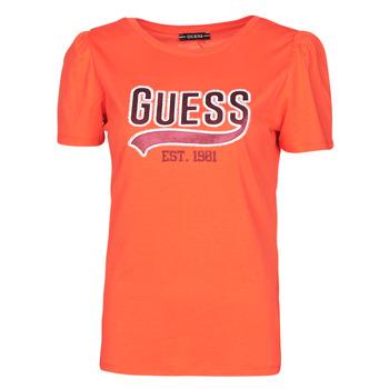 Vêtements Femme T-shirts manches courtes Guess SS CN MARISOL TEE