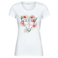 Vêtements Femme T-shirts manches courtes Guess SS CN REBECCA TEE