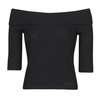 Abbigliamento Donna T-shirts a maniche lunghe Guess DAYNA OFF SHOULDER SWTR
