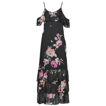 Kleidung Damen Maxikleider Guess AGATHE DRESS Bunt