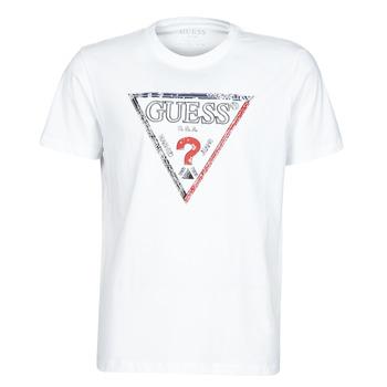 Abbigliamento Uomo T-shirt maniche corte Guess TRIESLEY CN SS TEE