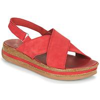Schuhe Damen Sandalen / Sandaletten Think ZEGA Rot