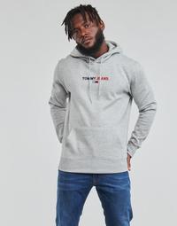 Abbigliamento Uomo Felpe Tommy Jeans TJM LINEAR LOGO HOODIE