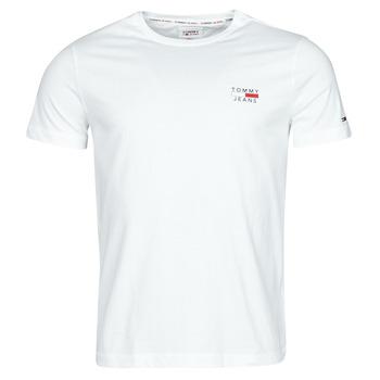 Kleidung Herren T-Shirts Tommy Jeans TJM CHEST LOGO TEE Weiß