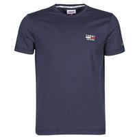 Kleidung Herren T-Shirts Tommy Jeans TJM CHEST LOGO TEE Marineblau