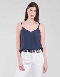 Kleidung Damen Tops / Blusen Tommy Jeans TJW CAMI TOP Marineblau