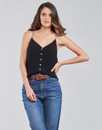 Vêtements Femme Tops / Blouses Tommy Jeans TJW CAMI TOP BUTTON THRU