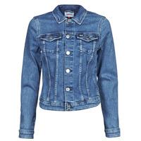 Abbigliamento Donna Giacche in jeans Tommy Jeans VIVIANNE SLIM DENIM TRUCKER NMBS