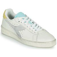 Schuhe Damen Sneaker Low Diadora GAME L LOW ICONA WN Weiß / Blau