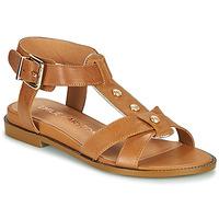 Schuhe Damen Sandalen / Sandaletten Karston SOCAS Kamel