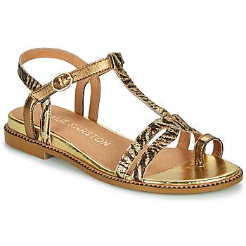 Schuhe Damen Sandalen / Sandaletten Karston SOREN Golden