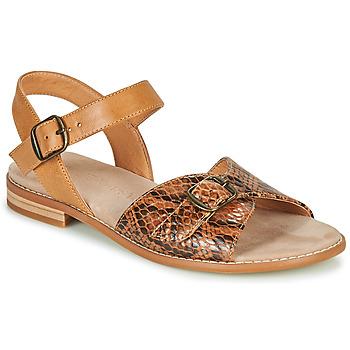Schuhe Damen Sandalen / Sandaletten Karston XABERO Kamel