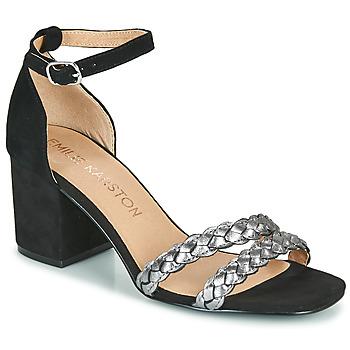 Schuhe Damen Sandalen / Sandaletten Karston POMELOS Silber