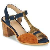 Schuhe Damen Sandalen / Sandaletten Karston LILIAN Braun, / Marineblau