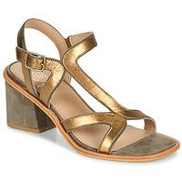 Schuhe Damen Sandalen / Sandaletten Karston PSOK Khaki / Bronze