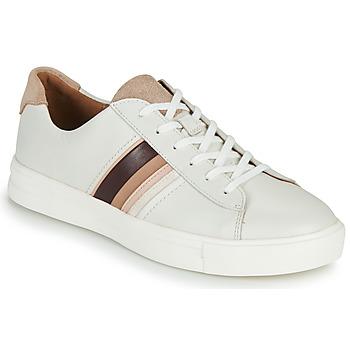 Schuhe Damen Sneaker Low Clarks UN MAUI BAND Weiß