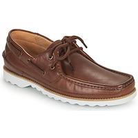 Schuhe Herren Bootsschuhe Clarks DURLEIGH SAIL Braun,