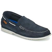Schuhe Herren Bootsschuhe Clarks NOONAN STEP Blau