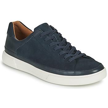 Schuhe Herren Sneaker Low Clarks UN COSTA TIE Blau