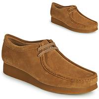 Schuhe Herren Derby-Schuhe Clarks WALLABEE 2 Braun,