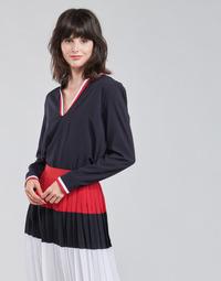 Vêtements Femme Tops / Blouses Tommy Hilfiger VISCOSE HER POPOVER BLOUSE LS
