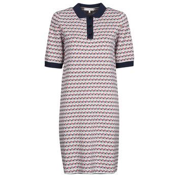 Vêtements Femme Robes courtes Tommy Hilfiger TH CUBE SHIFT SHORT DRESS SS