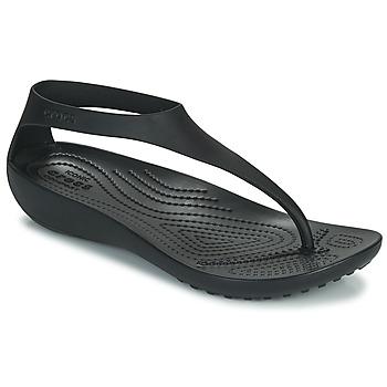 Chaussures Femme Tongs Crocs CROCS SERENA FLIP W