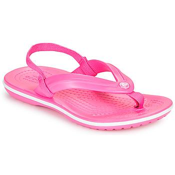 Schuhe Mädchen Zehensandalen Crocs CROCBAND STRAP FLIP K