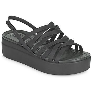 Schuhe Damen Sandalen / Sandaletten Crocs CROCS BROOKLYN STRAPPY LOWWDGW