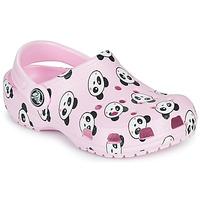 Schuhe Mädchen Pantoletten / Clogs Crocs CLASSIC PANDA PRINT CLOG K