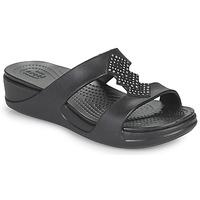 Schuhe Damen Pantoffel Crocs CROCSMONTEREYSHIMMERSLPONWDG W