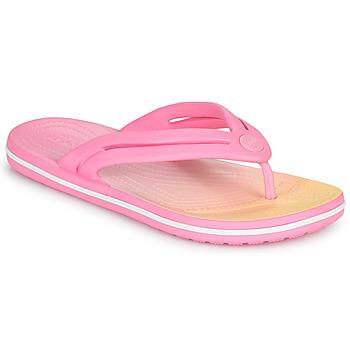 Chaussures Femme Tongs Crocs CROCBAND OMBRE FLIP W
