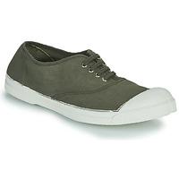 Schuhe Damen Sneaker Low Bensimon TENNIS LACET Khaki
