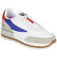 Schuhe Herren Sneaker Low Fila RETRONIQUE Weiß / Blau / Rot
