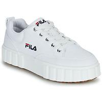 Schuhe Damen Sneaker Low Fila SANDBLAST C WMN Weiß