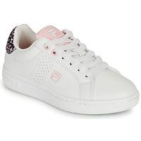 Schuhe Mädchen Sneaker Low Fila CROSSCOURT 2 NT KIDS Weiß