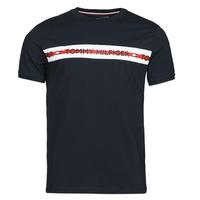 Vêtements Homme T-shirts manches courtes Tommy Hilfiger CN SS TEE LOGO