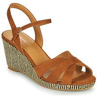 Schuhe Damen Sandalen / Sandaletten Moony Mood MALIA Kamel