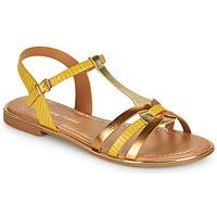 Schuhe Damen Sandalen / Sandaletten Moony Mood OSOM Gelb