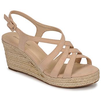 Schuhe Damen Sandalen / Sandaletten Moony Mood ONICE Beige