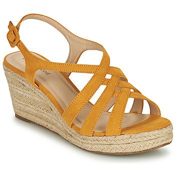 Schuhe Damen Sandalen / Sandaletten Moony Mood ONICE Gelb