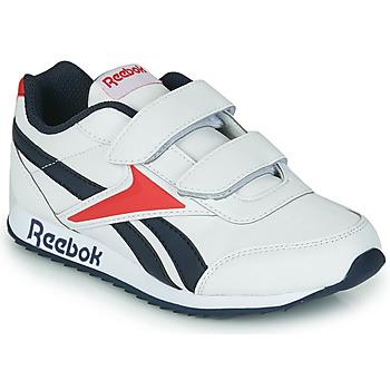 Schuhe Kinder Sneaker Low Reebok Classic REEBOK ROYAL CLJOG 2 2V Weiß / Marineblau / Rot
