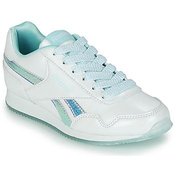 Schuhe Mädchen Sneaker Low Reebok Classic REEBOK ROYAL CLJOG 3.0 Weiß / Blau