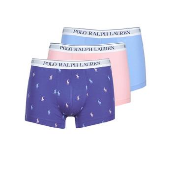 Biancheria Intima  Uomo Boxer Polo Ralph Lauren CLASSIC TRUNK X3